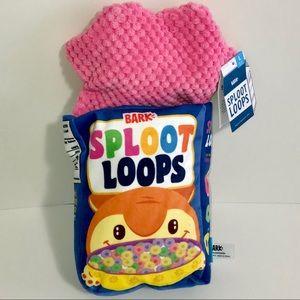 Bark Sploot Loops Toy